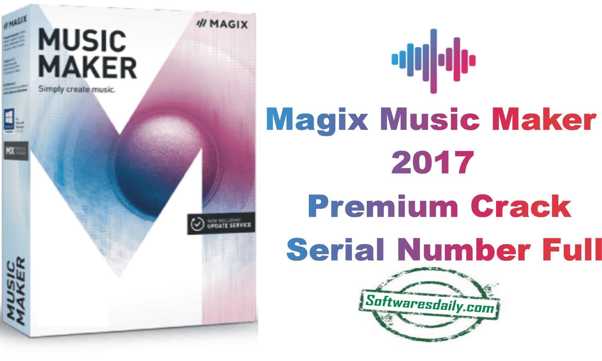 Magix music maker premium 18 crack