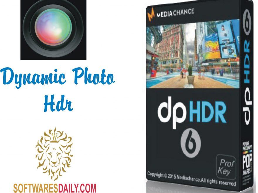 Dynamic Photo HDR 6.6 Crack & Serial Key Final Free Download