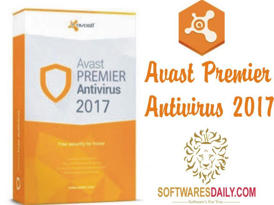 AVAST PREMIER ANTIVIRUS 2017 ACTIVATION CODE + CRACK