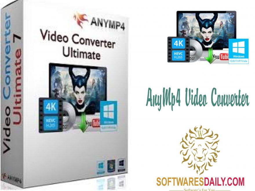 AnyMP4 Video Converter Ultimate 7.0.52 Crack Keygen Full Free
