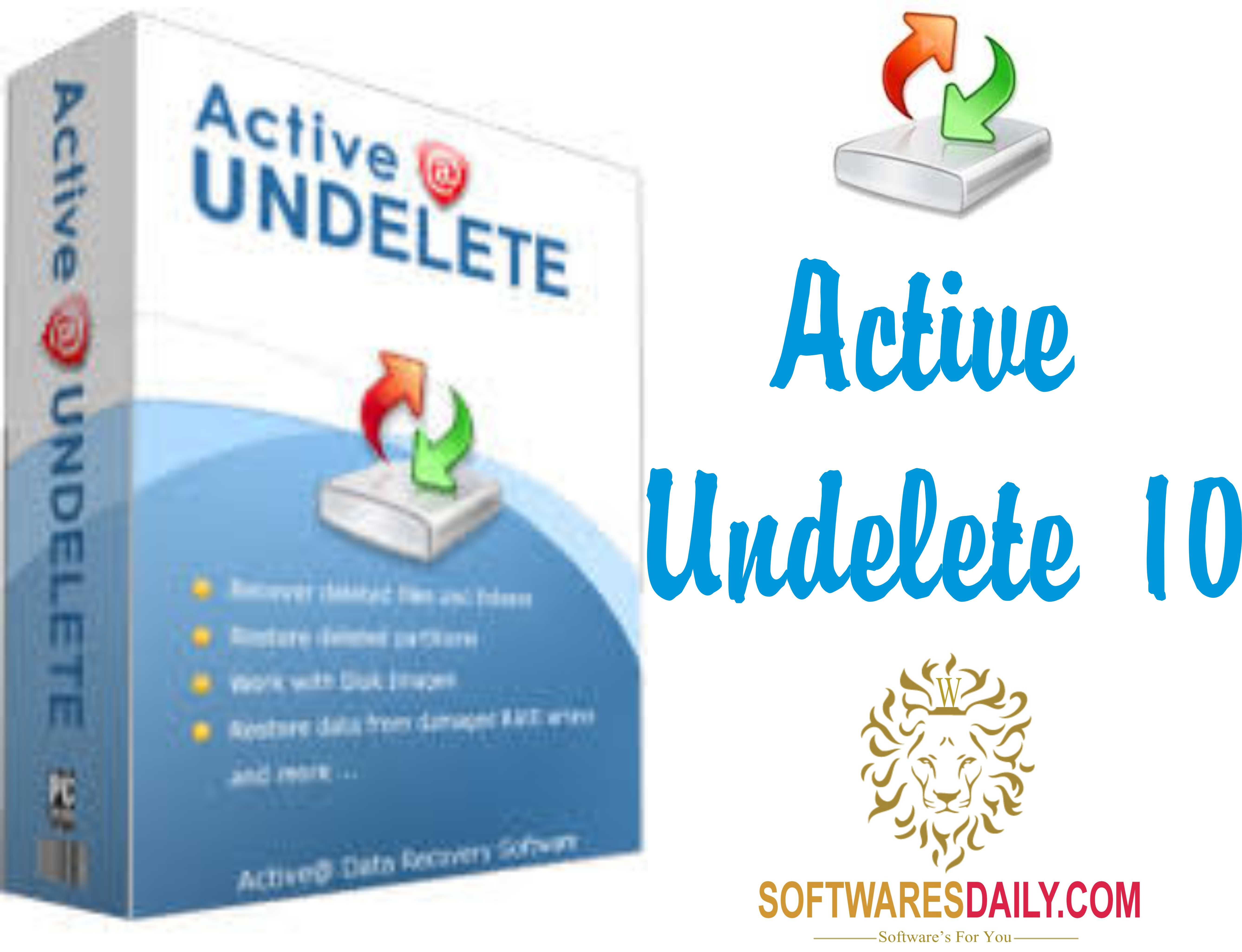 Active undelete 10 pro 2017 crack serial keygen free download - Inssider office free download ...