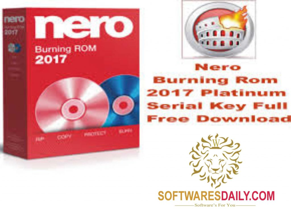 nero burning rom 2015 serial key crack