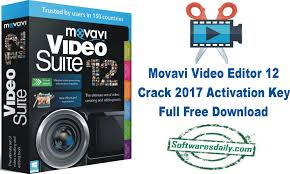 Movavi Video Editor 12 Crack 2017 Activation Key Full Free Download