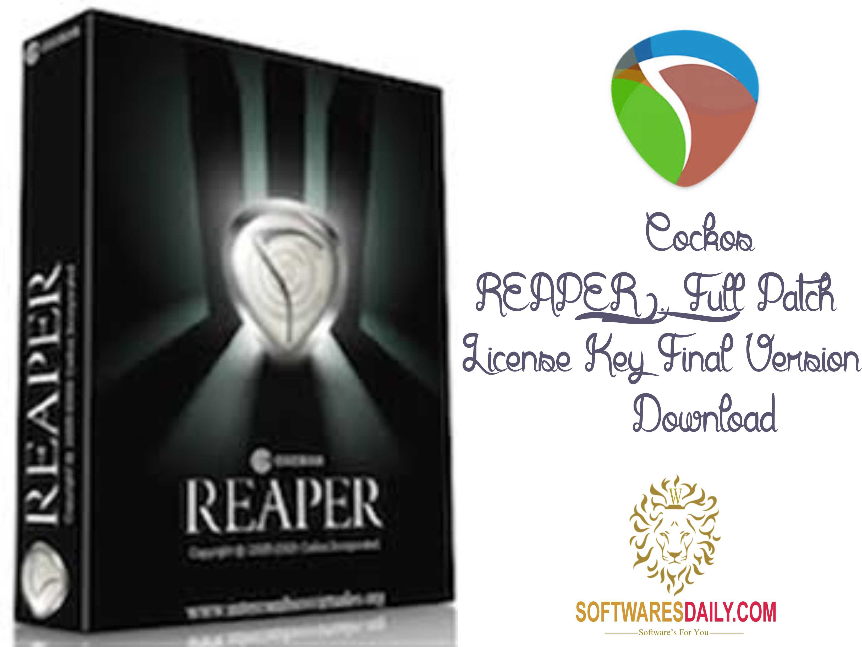 Cockos REAPER 6.09 Crack Patch & License Key Final 2020 ...