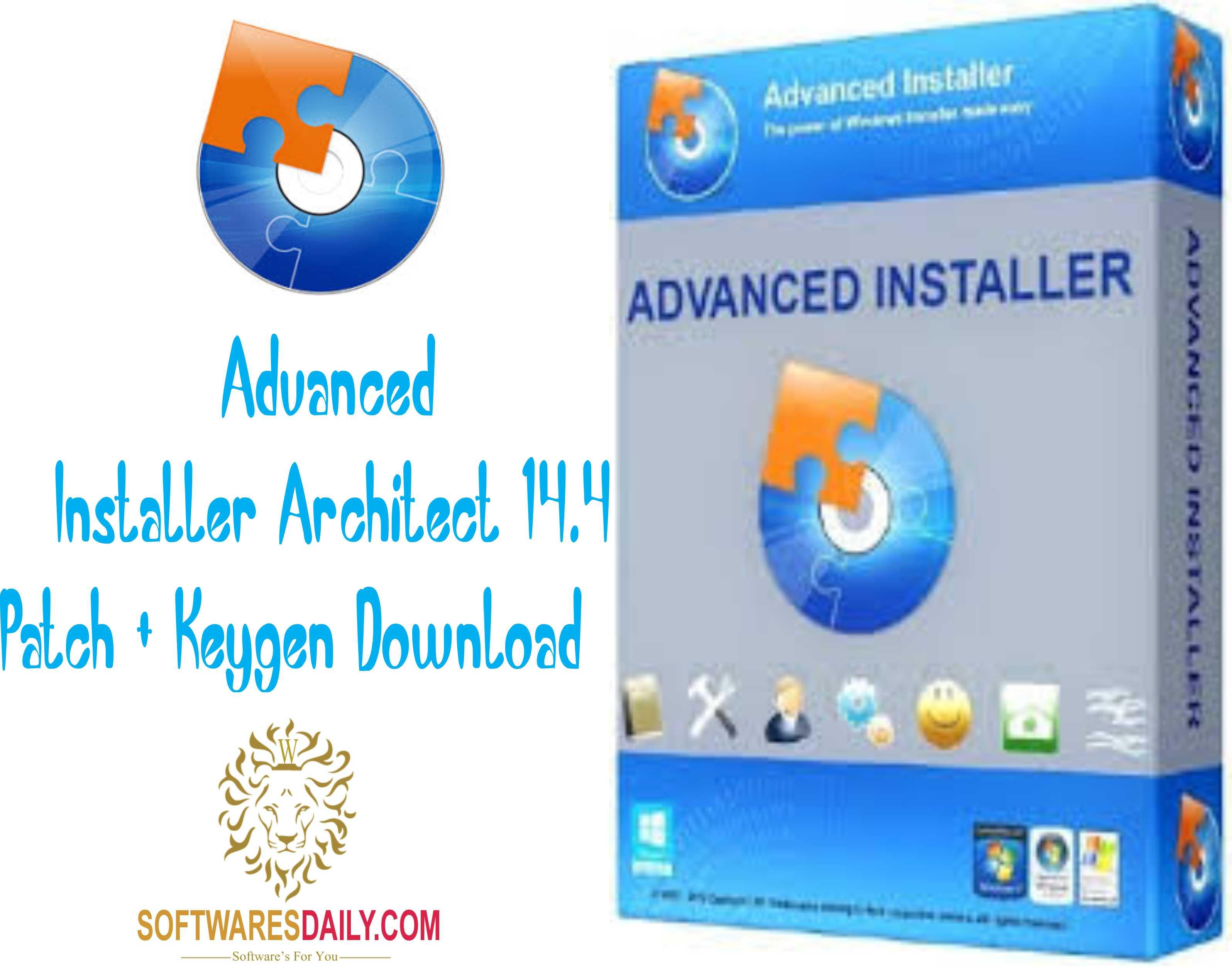 Advanced Installer Architect 16 3 Patch + Keygen Download